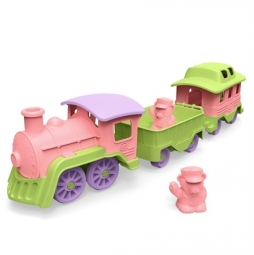 Green Toys Train Pink (roze)